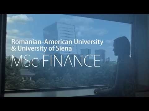 MSc Finance (Double Degree - Siena University, Italy)