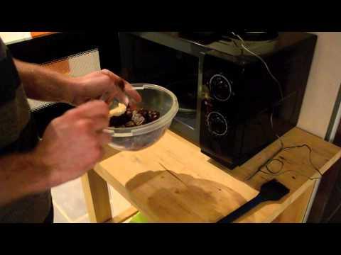 smelte chokolade i mikroovn
