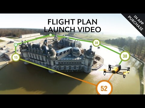 Parrot Bebop – Flight Plan (In-App purchase) – Launch Video