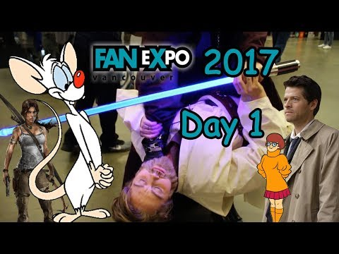 FanExpo Vancouver 2017 - Day 1 - Loved by Pinky
