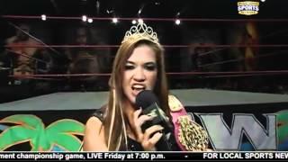 FCW 03-18-2012 ( Raquel Diaz & Audrey Marie ) Catfight Segment