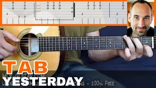 """Guitar Cover / Tab """"Yesterday"""" by MLR-Guitar"""