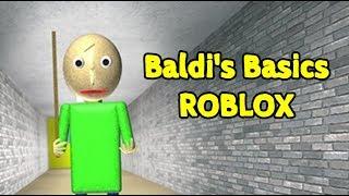 Baldi's Basics in Education and Learning | Baldi's Basics Roblox Map