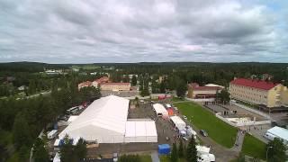 Kiuruvesi Iskelmäviikkojen avajaispäivänä 15.7.2015.