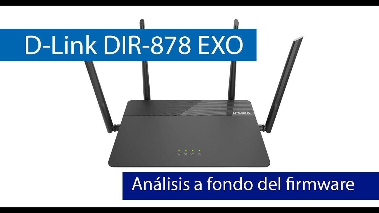 D-Link DIR-878: Análisis del firmware de este router con Triple VLAN  Movistar