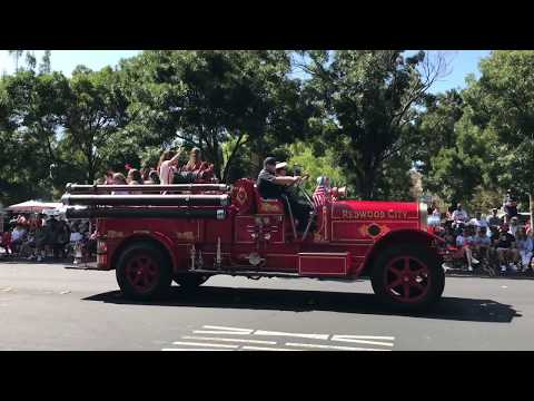 Redwood City Independence Day Parade 2017