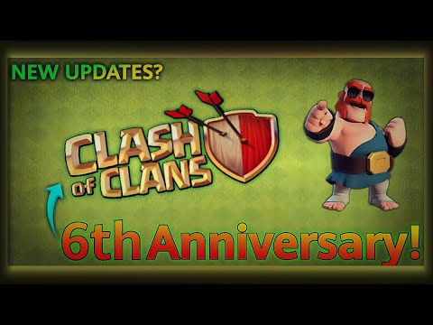 New August Update 2018   6th Anniversary  Cake, Ice Golem, Events   Clash of Clans