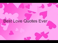Best Love Quotes Ever - So True Things that happens with Love Life