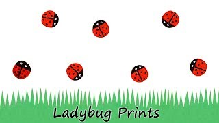Painting Ladybugs With a Wine Cork