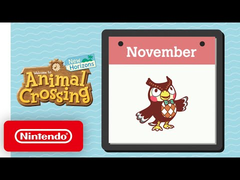 Animal Crossing: New Horizons - Exploring November - Nintendo Switch
