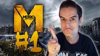 "Metro Last Light #1 - ""IK BEN GEEN LIEF KLEIN KONIJN!"" (Gameplay/Walkthrough)"