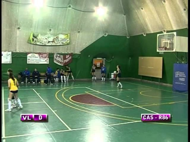 ProCastelnuovo vs Roma86 - 3° Set
