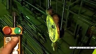 видео Радиоуправление Telecrane на кран-балку, мостовой кран.