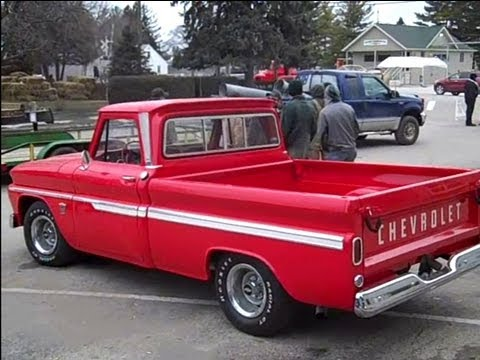 restored 1964 chevy c10 pickup sold on leland il auction. Black Bedroom Furniture Sets. Home Design Ideas