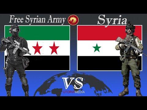 FREE SYRIAN ARMY vs SYRIA military power comparison 2020