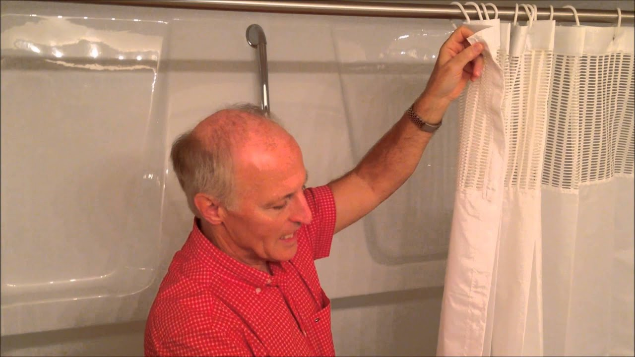 StayDry Shower Curtain Keeping Floors Clean Dry And Safe