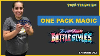 Pokémon Sword & Shield Battle Styles One Pack Magic or Not, Episode 02 #Shorts