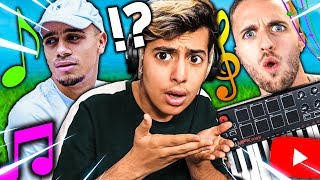 THE NEW MUSICAL YOUTUBER QUIZZ ON FORTNITE CREATIVE MODE!