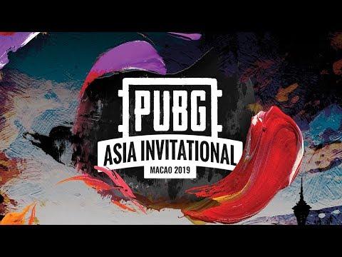 PUBG Asia Invitational Macao 2019 日本語配信 Day1