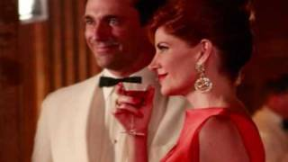 Mad Men  - slide show - music by Frank Sinatra - The Best is Yet to Come (1964)