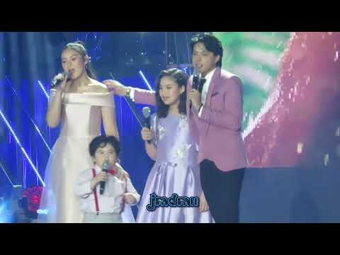 Daniel Padilla with Magui, Carmella & Jordan - Kahit Maputi Na Ang Buhok Ko
