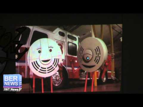 Fire Safety Awareness Week Skit, November 2 2015