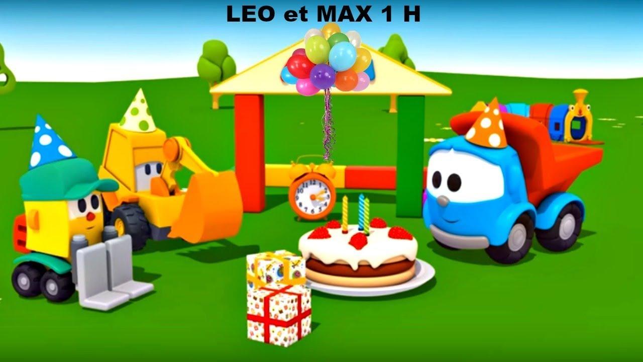 Download Compilation 1H: Max, Léo le camion et véhicules d'assistances