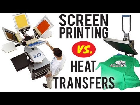 The Benefits Of Plastisol Heat Transfers Vs Screen