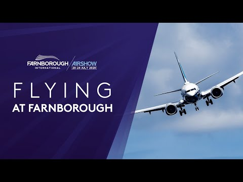 Take to the Skies - Flying Display at Farnborough International Airshow 2020