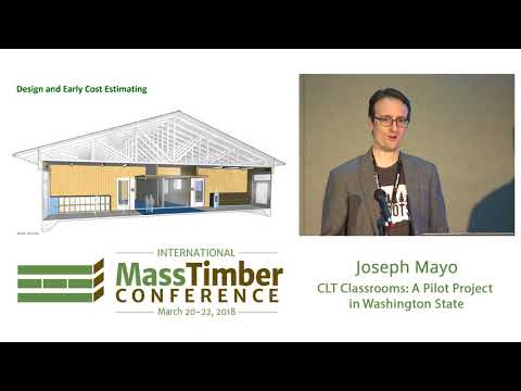 Cross Laminated Timber Classrooms  A Pilot Project in Washington State