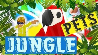 Adopt Me NEW Jungle Pets // Spending ALL My Cash For Giveaway (Roblox)