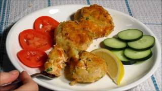 Easy Salmon Croquette Recipe