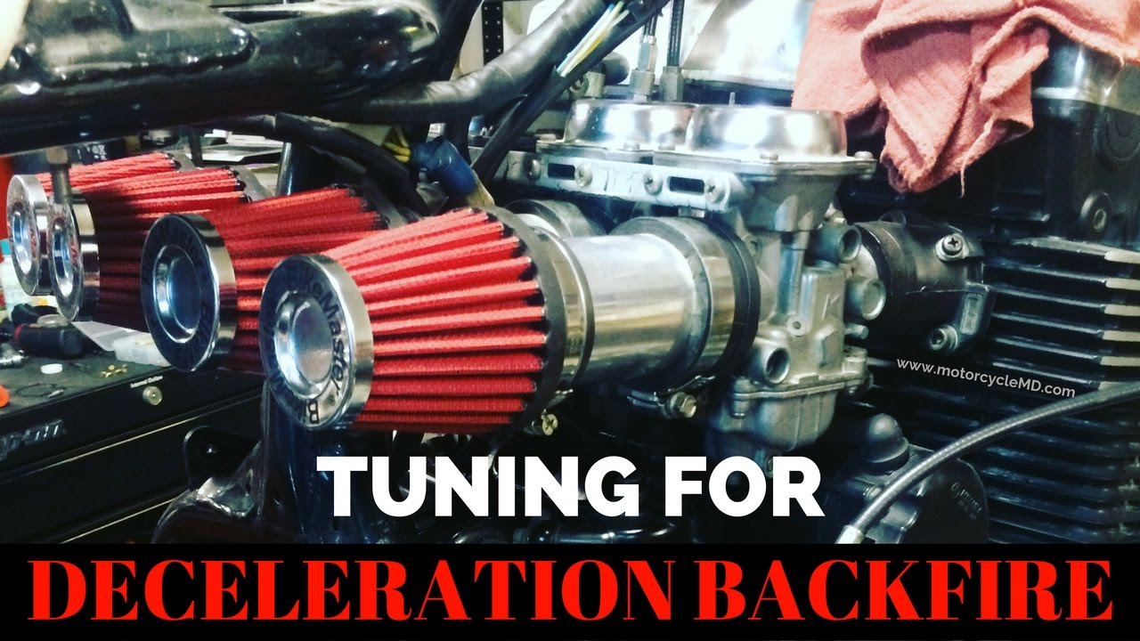 Deceleration Backfire: Tuning your carburetor