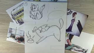Учимся рисовать комикс [Sketch School] -  28 урок