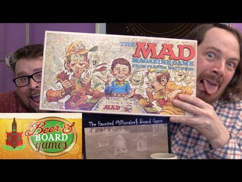 Haunted Millionaire | Mad Magazine Game | Beer and Board Games