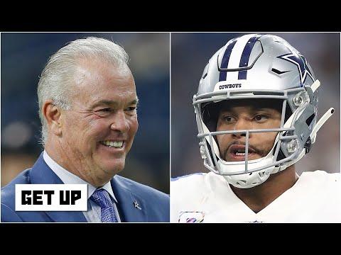 Stephen Jones still believes the Cowboys will get a deal done with Dak Prescott | Get Up