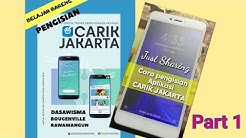 Pengisian Aplikasi CARIK JAKARTA Dasawisma Part 1