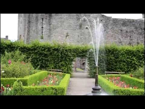 Roscrea Castle and Damer House, County Tipperary, Ireland