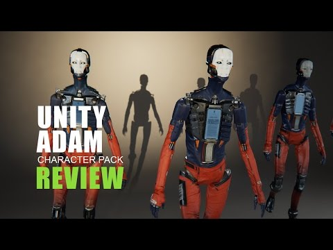 Review ~ Adam Character Pack: Unity Adam demo  Assets
