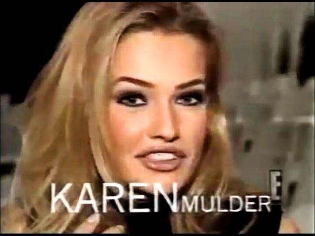 Breakdown karen mulder Karen Mulder: