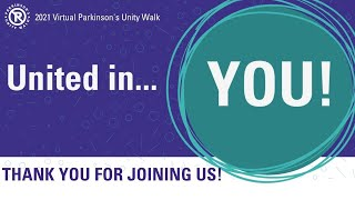 2021 Virtual Parkinson's Unity Walk Day Wrap-Up | #PUW2021