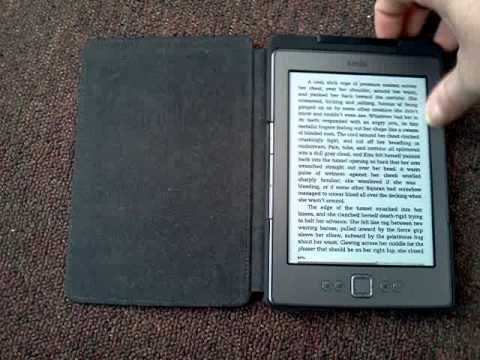 Kindle 4 First-Party Lighted Case Review