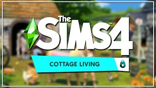 I BUILT THREE OFFICIAL LOTS IN THE SIMS 4 COTTAGE LIVING!