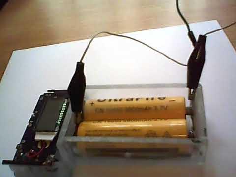 Li-ion akkumlátor tesztelő