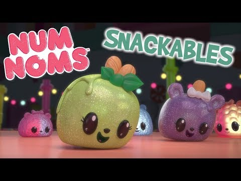 Num Noms | Peggy Puffs Has a Dance-Off | Snackables Cartoon Webisode | Season 3 Episode 9