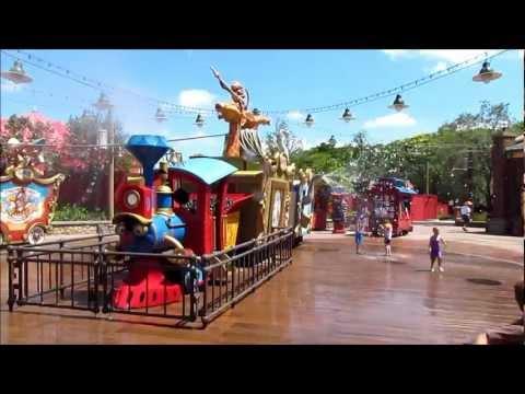 Casey Jr. Splash 'N' Soak Station at the Magic Kingdom