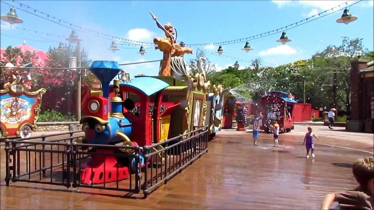Casey Jr Splash N Soak Station At The Magic Kingdom