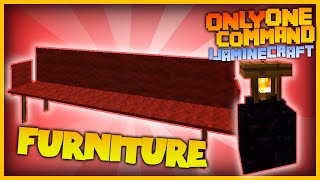 Minecraft - More Furniture with only one command block