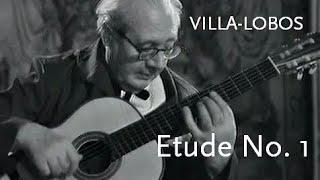 Etude No. 1 • Villa-Lobos • Andrés Segovia
