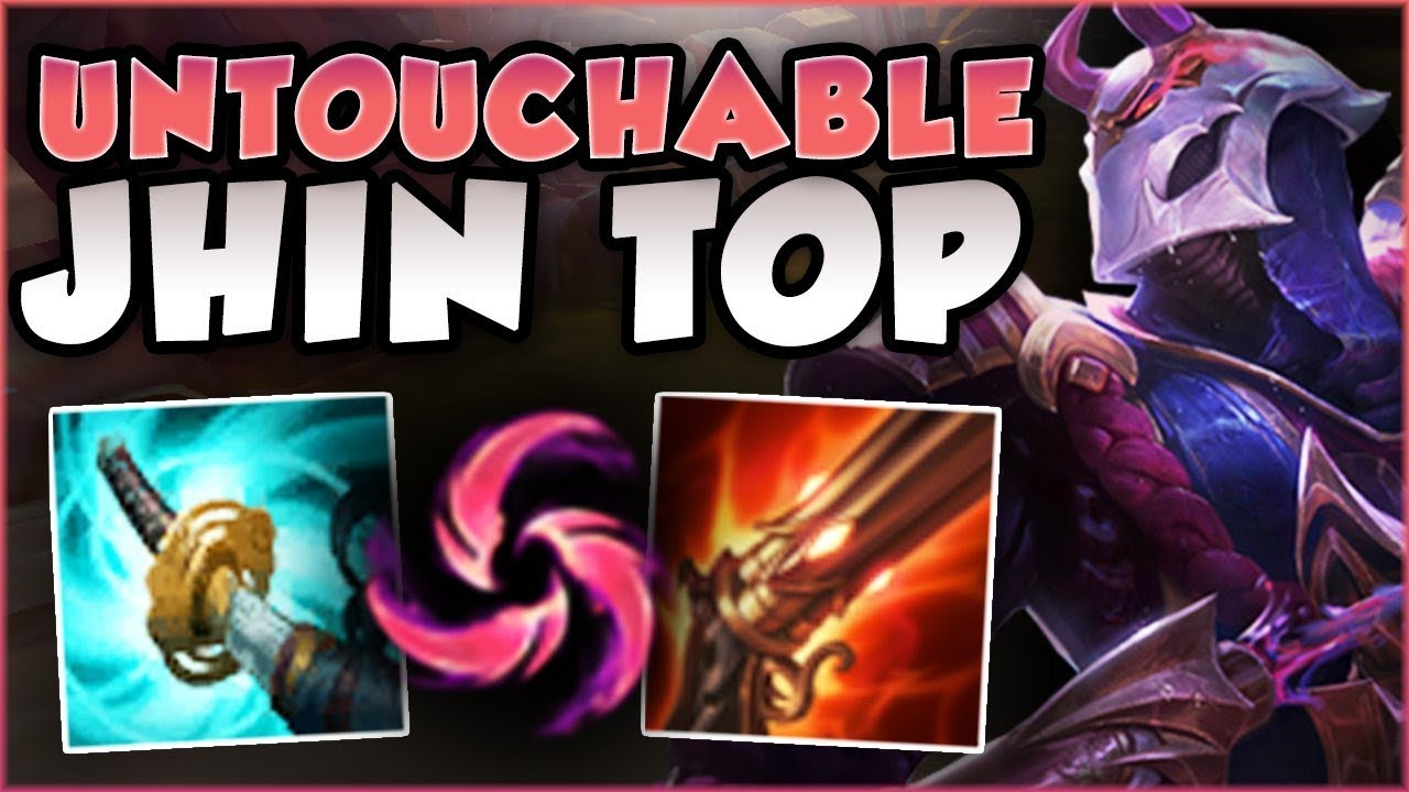 TAKING THE BEST ADC TO TOP LANE! UNBELIEVABLE JHIN TOP LANE IS 100% BUSTED!  - League of Legends